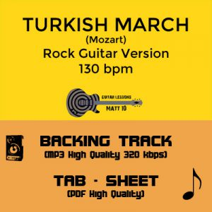 Flight Of The Bumblebee – Backing Track & TAB – 80 bpm / 120 bpm
